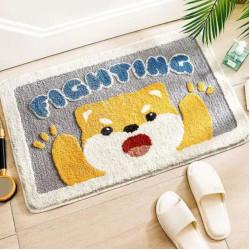 THRILRUG Bathroom Shower Rug mat
