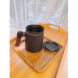 Zhenpintang ceramic tea water separation large-capacity teacup