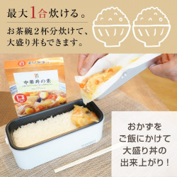 Japan Thanko Evolution Double-layer Cooking Box