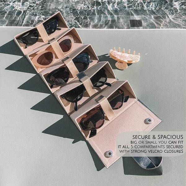 Glasses storage box