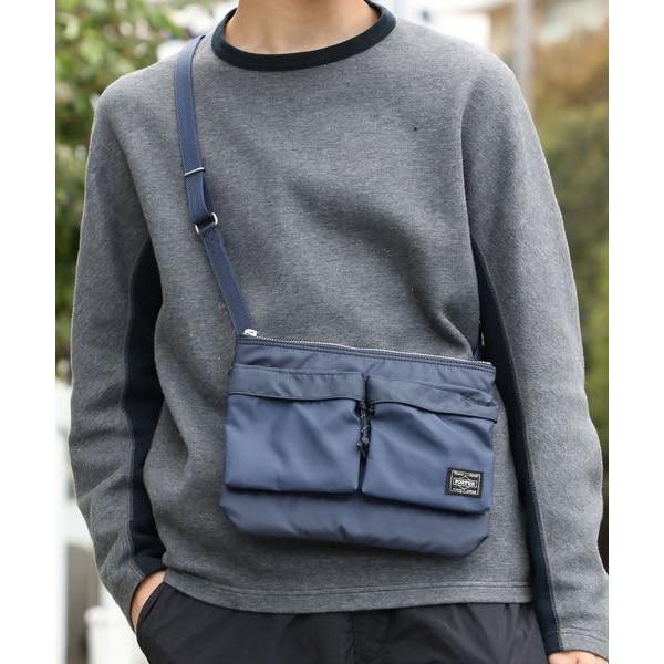 Porter Force military style shoulder bag made in Japan