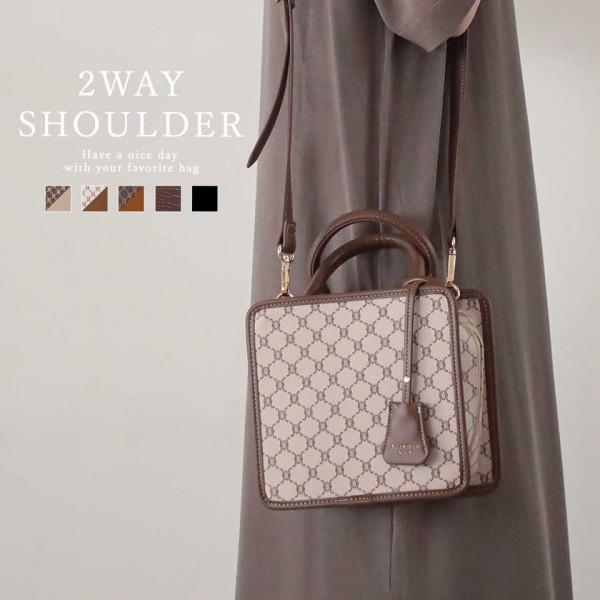 Japanese Monogram 2way shoulder bag