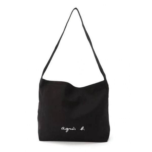 Japanese Agnes b. Yoyage lightweight canvas shoulder bag