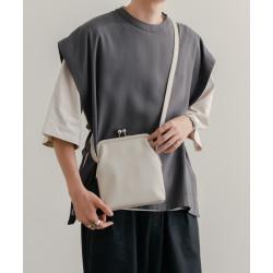 Japanese epnok nubuck leather shoulder bag