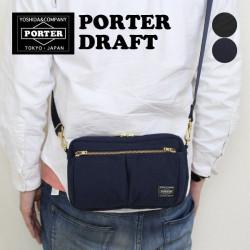 Japan-made Porter Draft 2way wear-resistant super water-repellent shoulder bag