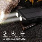 Soluser Waterproof solar charging
