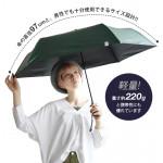W.P.C Shading Minimum Basic Parasol Unisex Folding Umbrella