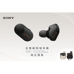 Sony WF-1000XM3 Wireless Noise-Canceling Headphones