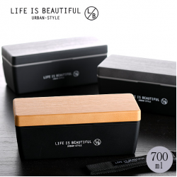Japan LB imitation wood lunch box