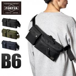Porter Unit Long Double Bag Shoulder Bag