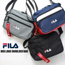 Fila Box Logo Shoulder Bag