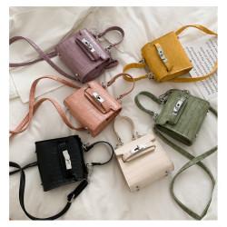 Japanese crocodile pattern all-match Mini handbag