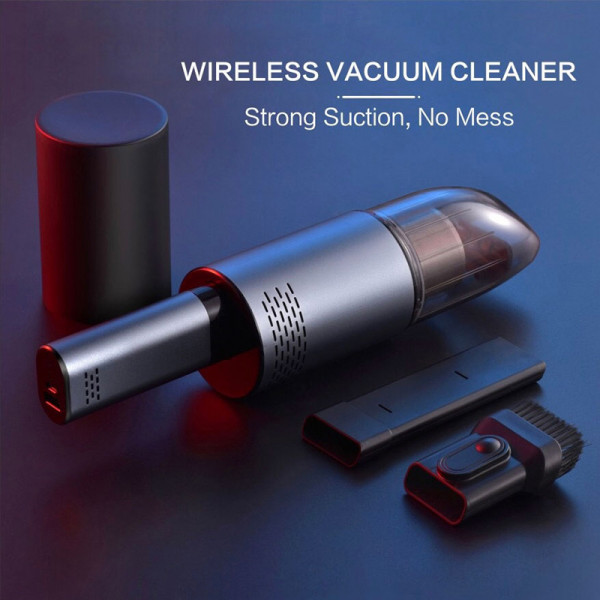 NeSugar Wireless Small Large Suction Car Vacuum Cleaner