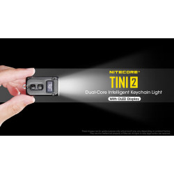 Nitecore TINI 2 500 Lumen Rechargeable Keychain Flashlight
